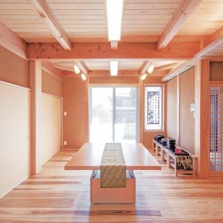 職人の智恵と技を結集して 本格茶室を叶えた木の家
