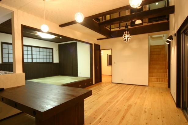 【ひろしまの家】高橋工務店 新築 注文住宅 広島 リビングダイニング