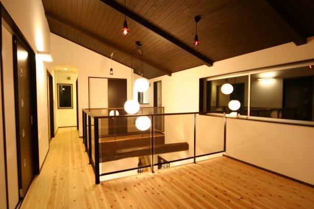 【ひろしまの家】高橋工務店 新築 注文住宅 広島 2階廊下