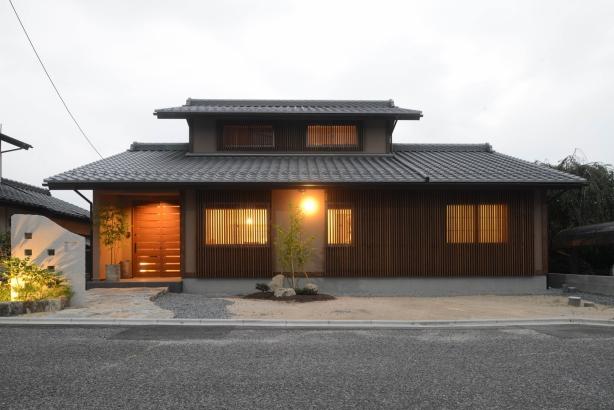【ひろしまの家】 高橋工務店 注文住宅 新築 自然素材 外観
