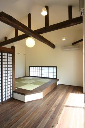 【WEB】ひろしまの家 高橋工務店 SW工法 パッシブデザイン 広島 和室スペース