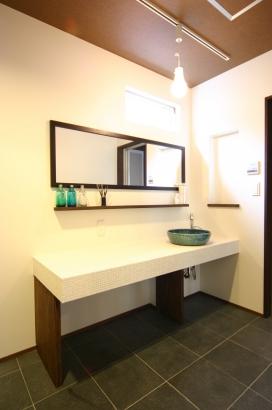 【WEB】ひろしまの家 高橋工務店 SW工法 パッシブデザイン 広島 洗面室