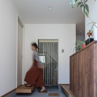 2階LDKとスキップフロアで叶えた 豊かな眺望と家族の時間