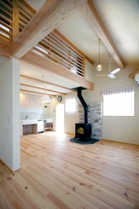 広島市佐伯区 小さな木組みの家