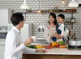 【ひろしまの家相談カウンター】プライバシーを保ちつつ過ごしやすい二世帯住宅を建てました。