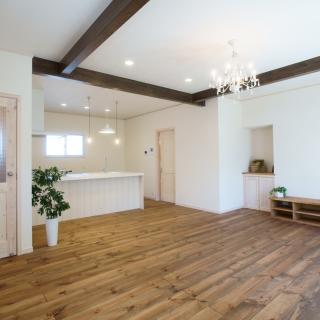 カフェのようなおしゃれな空間 ナチュラルかわいい家