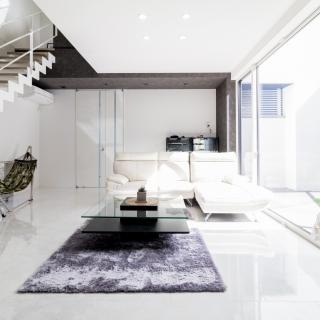 ギャラリーで暮らすような デザイン完成度の高い住まい