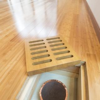 地熱で人にやさしい快適空間の家