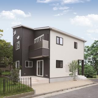 #0072 スキップフロアのあるおしゃれな二世帯住宅