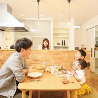 #0079 木の質感を感じながら家族が毎日笑顔になれる家
