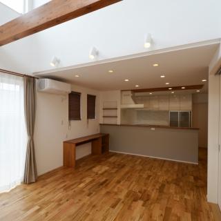 #0107 家事動線と家族・来客動線にもこだわった暮らしやすい家