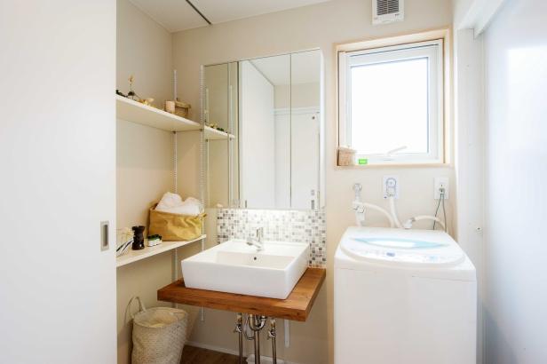 【ひろしまの家】株式会社大喜 新築 注文住宅 広島 洗面台