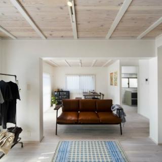 白で統一した優しい住空間