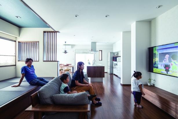 LDKを完全二世帯住宅としてリノベーションした豊北木材の実例