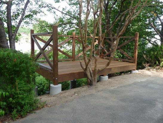 ウッドデッキ造作工事│東広島のリフォーム・注文受託 豊北木材工業