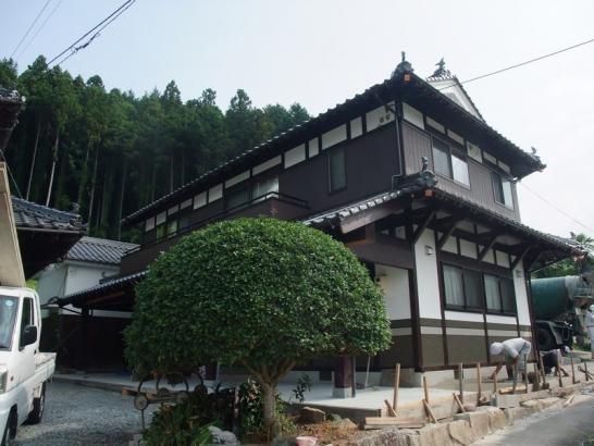 伝統工法の日本建築