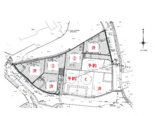 全9区画の街並みです。 現在3区画販売中。 アストラムライン長楽寺駅徒歩4分 生活に便利なおすすめのエリアです。
