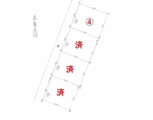 残り1区画 JR矢賀駅徒歩4分 イオンモール広島府中も近くにあります。 さらには小学校が近く、 買い物・通学に便利なエリアです。 全4区画の土地。
