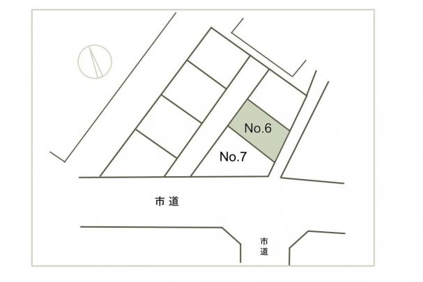 【区画図】比治山本町 No.6